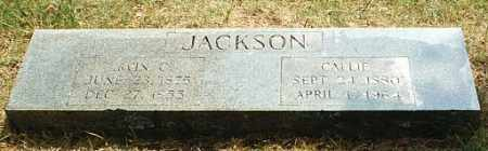 JACKSON, CALLIE - White County, Arkansas | CALLIE JACKSON - Arkansas Gravestone Photos