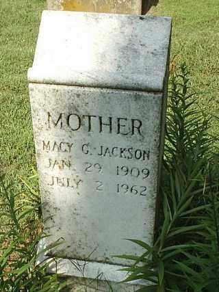 JACKSON, MACY C - White County, Arkansas | MACY C JACKSON - Arkansas Gravestone Photos