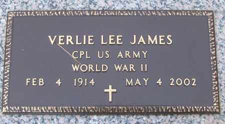 JAMES (VETERAN WWII), VERLIE LEE - White County, Arkansas | VERLIE LEE JAMES (VETERAN WWII) - Arkansas Gravestone Photos