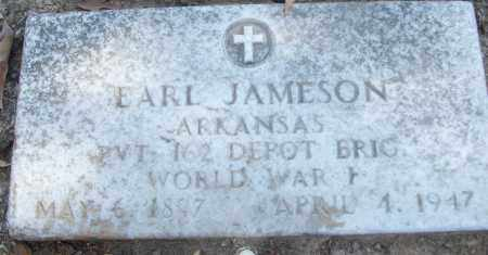 JAMESON (VETERAN WWI), EARL - White County, Arkansas | EARL JAMESON (VETERAN WWI) - Arkansas Gravestone Photos