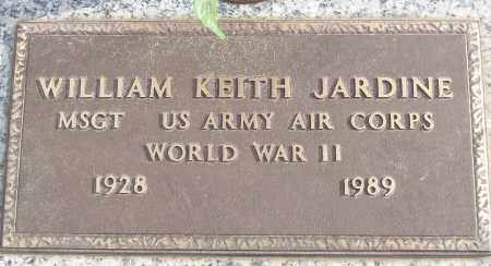JARDINE (VETERAN WWII), WILLIAM KEITH - White County, Arkansas | WILLIAM KEITH JARDINE (VETERAN WWII) - Arkansas Gravestone Photos