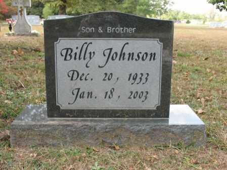 JOHNSON, BILLY - White County, Arkansas | BILLY JOHNSON - Arkansas Gravestone Photos
