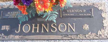 JOHNSON (VETERAN WWII), VERNON P - White County, Arkansas | VERNON P JOHNSON (VETERAN WWII) - Arkansas Gravestone Photos