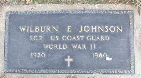 JOHNSON (VETERAN WWII), WILBURN E - White County, Arkansas | WILBURN E JOHNSON (VETERAN WWII) - Arkansas Gravestone Photos