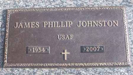 JOHNSTON (VETERAN), JAMES PHILLIP - White County, Arkansas | JAMES PHILLIP JOHNSTON (VETERAN) - Arkansas Gravestone Photos