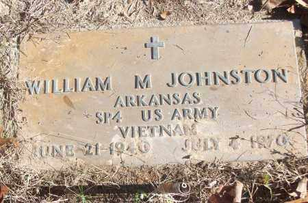 JOHNSTON (VETERAN VIET), WILLIAM M - White County, Arkansas | WILLIAM M JOHNSTON (VETERAN VIET) - Arkansas Gravestone Photos