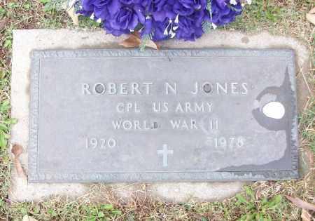JONES  (VETERAN WWII), ROBERT N - White County, Arkansas | ROBERT N JONES  (VETERAN WWII) - Arkansas Gravestone Photos