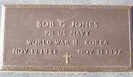 JONES (VETERAN 2 WARS), BOB C - White County, Arkansas | BOB C JONES (VETERAN 2 WARS) - Arkansas Gravestone Photos