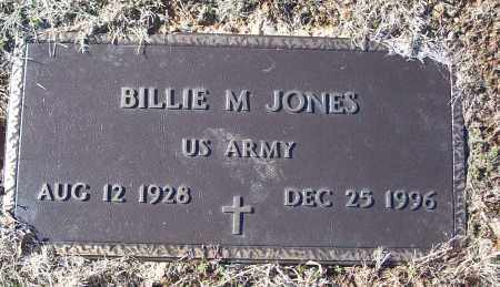 JONES (VETERAN), BILLIE M - White County, Arkansas | BILLIE M JONES (VETERAN) - Arkansas Gravestone Photos
