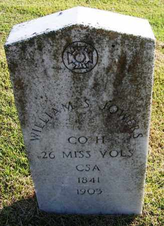 JOWERS (VETERAN CSA), WILLIAM S - White County, Arkansas | WILLIAM S JOWERS (VETERAN CSA) - Arkansas Gravestone Photos