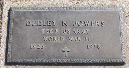 JOWERS (VETERAN WWII), DUDLEY N - White County, Arkansas | DUDLEY N JOWERS (VETERAN WWII) - Arkansas Gravestone Photos