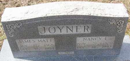 JOYNER, NANCY E. - White County, Arkansas | NANCY E. JOYNER - Arkansas Gravestone Photos