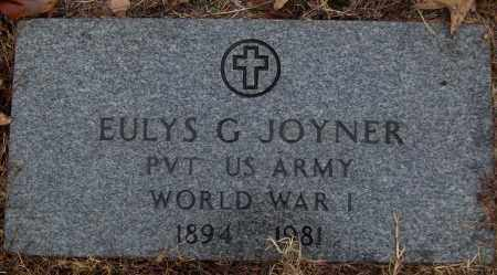 JOYNER (VETERAN WWI), EULYNS G - White County, Arkansas | EULYNS G JOYNER (VETERAN WWI) - Arkansas Gravestone Photos