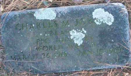 JOYNER (VETERAN WWII), CHARLES M - White County, Arkansas | CHARLES M JOYNER (VETERAN WWII) - Arkansas Gravestone Photos
