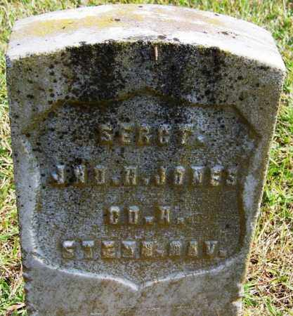JONES (VETERAN UNION), JOHN C - White County, Arkansas | JOHN C JONES (VETERAN UNION) - Arkansas Gravestone Photos