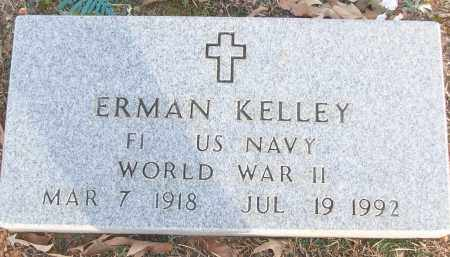 KELLEY (VETERAN WWII), ERMAN - White County, Arkansas | ERMAN KELLEY (VETERAN WWII) - Arkansas Gravestone Photos