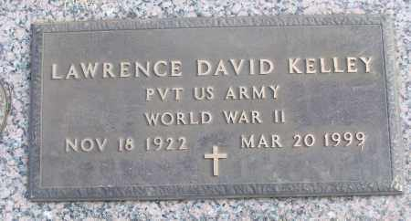KELLEY (VETERAN WWII), LAWRENCE DAVID - White County, Arkansas | LAWRENCE DAVID KELLEY (VETERAN WWII) - Arkansas Gravestone Photos