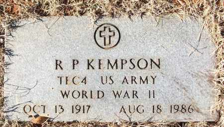 KEMPSON (VETERAN WWII), R P - White County, Arkansas | R P KEMPSON (VETERAN WWII) - Arkansas Gravestone Photos