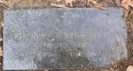 KEVER (VETERAN), THOMAS RALPH - White County, Arkansas | THOMAS RALPH KEVER (VETERAN) - Arkansas Gravestone Photos