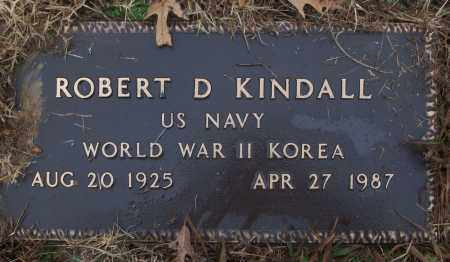 KINDALL (VETERAN 2 WARS), ROBERT D - White County, Arkansas | ROBERT D KINDALL (VETERAN 2 WARS) - Arkansas Gravestone Photos