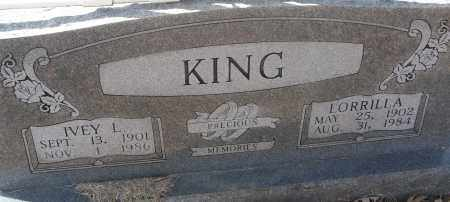 KING, IVEY L. - White County, Arkansas | IVEY L. KING - Arkansas Gravestone Photos
