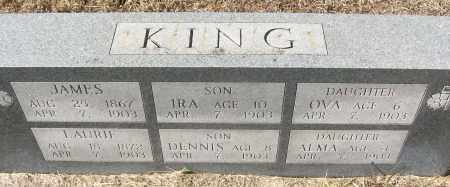 KING, DENNIS - White County, Arkansas | DENNIS KING - Arkansas Gravestone Photos