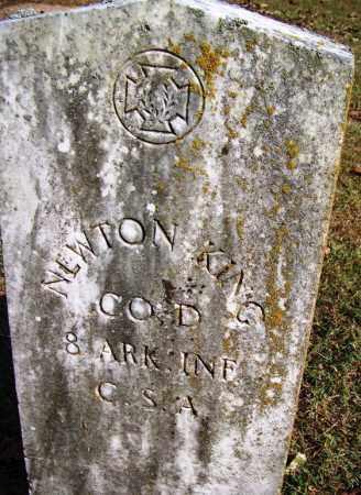 KING (VETERAN CSA), NEWTON - White County, Arkansas | NEWTON KING (VETERAN CSA) - Arkansas Gravestone Photos