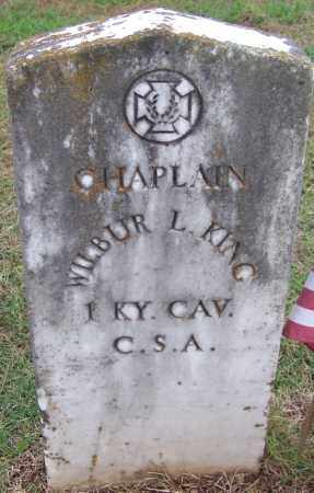 KING (VETERAN CSA), WILBUR L. - White County, Arkansas | WILBUR L. KING (VETERAN CSA) - Arkansas Gravestone Photos