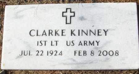 KINNEY (VETERAN), CLARKE - White County, Arkansas | CLARKE KINNEY (VETERAN) - Arkansas Gravestone Photos