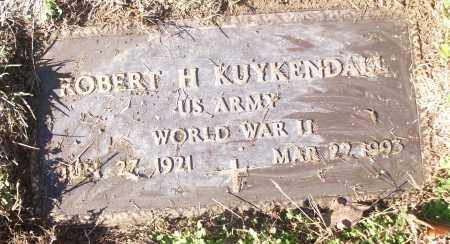 KUYKENDALL (VETERAN WWII), ROBERT H - White County, Arkansas | ROBERT H KUYKENDALL (VETERAN WWII) - Arkansas Gravestone Photos