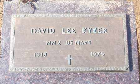 KYZER (VETERAN), DAVID LEE - White County, Arkansas | DAVID LEE KYZER (VETERAN) - Arkansas Gravestone Photos