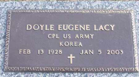 LACY (VETERAN KOR), DOYLE EUGENE - White County, Arkansas | DOYLE EUGENE LACY (VETERAN KOR) - Arkansas Gravestone Photos