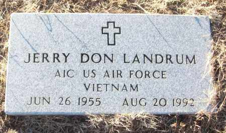 LANDRUM (VETERAN VIET), JERRY DON - White County, Arkansas | JERRY DON LANDRUM (VETERAN VIET) - Arkansas Gravestone Photos