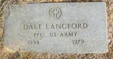 LANGFORD (VETERAN), DALE - White County, Arkansas | DALE LANGFORD (VETERAN) - Arkansas Gravestone Photos