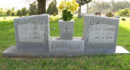 LANGLEY, COLIE EUGENE - White County, Arkansas | COLIE EUGENE LANGLEY - Arkansas Gravestone Photos