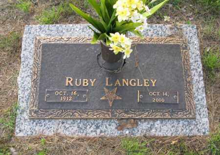 LANGLEY, RUBY ESTELLE - White County, Arkansas | RUBY ESTELLE LANGLEY - Arkansas Gravestone Photos