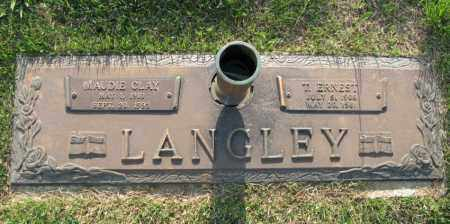 LANGLEY, MAUDIE - White County, Arkansas | MAUDIE LANGLEY - Arkansas Gravestone Photos