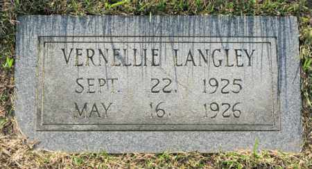 LANGLEY, VERNELLIE - White County, Arkansas | VERNELLIE LANGLEY - Arkansas Gravestone Photos
