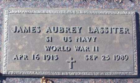 LASSITER (VETERAN WWII), JAMES AUBREY - White County, Arkansas | JAMES AUBREY LASSITER (VETERAN WWII) - Arkansas Gravestone Photos