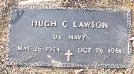 LAWSON (VETERAN), HUGH C - White County, Arkansas | HUGH C LAWSON (VETERAN) - Arkansas Gravestone Photos