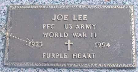 LEE (VETERAN WWII), JOE - White County, Arkansas | JOE LEE (VETERAN WWII) - Arkansas Gravestone Photos