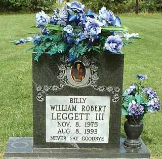 LEGETT III, WILLIAM ROBERT - White County, Arkansas | WILLIAM ROBERT LEGETT III - Arkansas Gravestone Photos