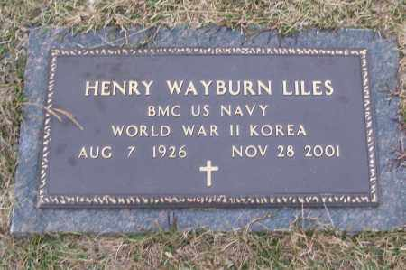 LILES (VETERAN 2 WARS), HENRY WAYBURN - White County, Arkansas | HENRY WAYBURN LILES (VETERAN 2 WARS) - Arkansas Gravestone Photos