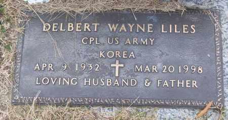 LILES (VETERAN KOR), DELBERT WAYNE - White County, Arkansas | DELBERT WAYNE LILES (VETERAN KOR) - Arkansas Gravestone Photos