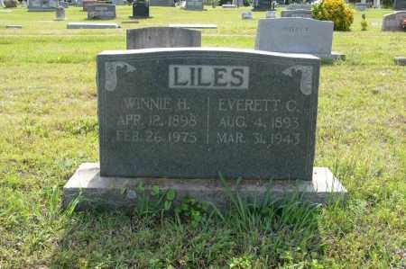 LILES, EVERETT COLEMAN - White County, Arkansas | EVERETT COLEMAN LILES - Arkansas Gravestone Photos