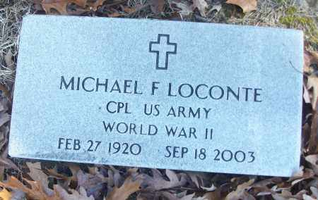 LOCONTE (VETERAN WWII), MICHAEL F - White County, Arkansas | MICHAEL F LOCONTE (VETERAN WWII) - Arkansas Gravestone Photos