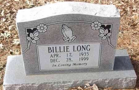 LONG, BILLIE - White County, Arkansas | BILLIE LONG - Arkansas Gravestone Photos