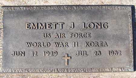 LONG (VETERAN 2 WARS), EMMETT J - White County, Arkansas | EMMETT J LONG (VETERAN 2 WARS) - Arkansas Gravestone Photos