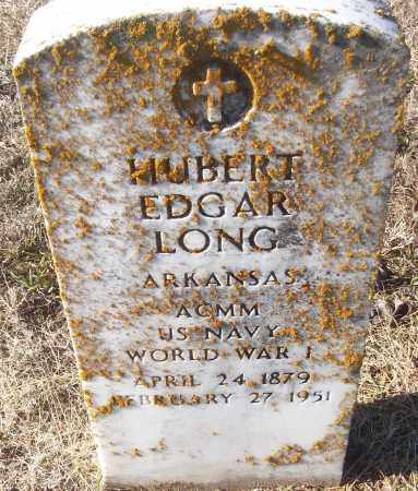 LONG (VETERAN WWI), HUBERT EDGAR - White County, Arkansas | HUBERT EDGAR LONG (VETERAN WWI) - Arkansas Gravestone Photos
