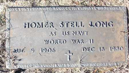 LONG (VETERAN WWII), HOMER STELL - White County, Arkansas | HOMER STELL LONG (VETERAN WWII) - Arkansas Gravestone Photos